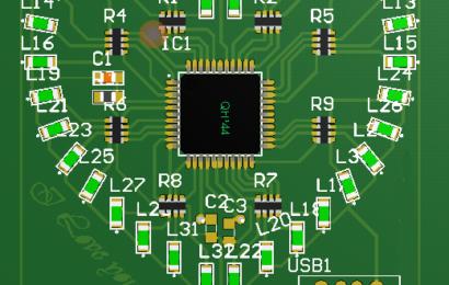 LED trái tim Version 3 linh kiện dán – nhỏ mà có võ