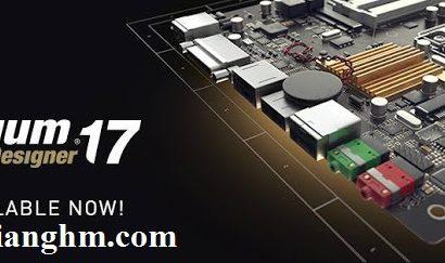 Altium Designer 17.0.7 (Build 424) – phần mềm vẽ mạch điện tử mới nhất