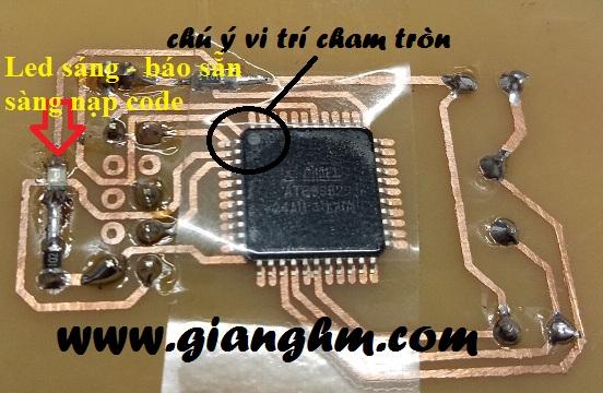 Hướng dẫn nạp code cho chip dán (89s52_24AU)