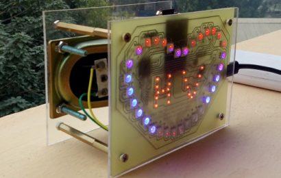 led trái tim rgb tích hợp – module mp3 mini