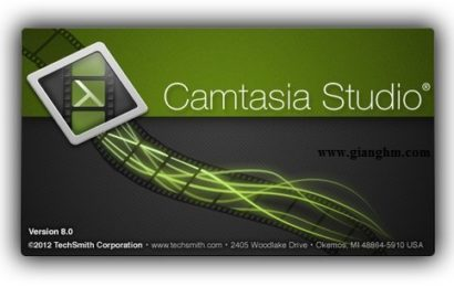 Camtasia Studio 8.4.0 – Phần mềm quay phim màn hình chuyên nghiệp