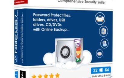 Folder Lock 7 – Khóa file, thư mục bằng mật khẩu
