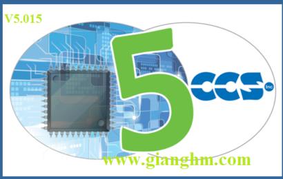 CCS 5.015 Full – trình biên dịch cho dòng VĐK PIC