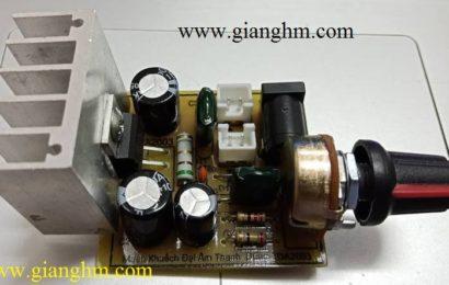 Mạch khuếch đại âm thanh đơn giản dùng IC TDA2003