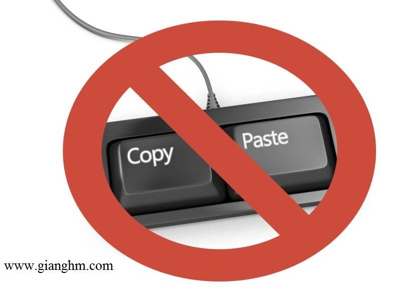 Các cách đơn giản để copy nội dung trên website không cho copy