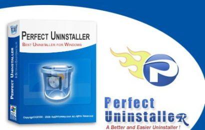 Perfect Uninstaller 6.3.4.1 – Gỡ triệt để phần mềm đã cài đặt