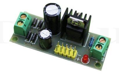 Mạch ổn áp 5v đơn giản dùng LM7805