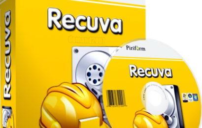 Khôi phục dữ liệu đã xóa bằng Recuva Pro 1.53 full