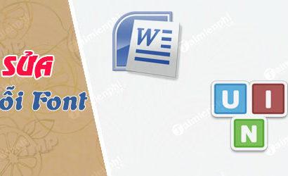 Sửa lỗi font chữ trong office- Tải full bộ font chữ đầy đủ