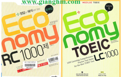 Economy TOEIC – Listening and Reading [PDF + Audio]