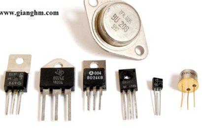 Cấu tạo và nguyên lý hoạt động của Transistor / Tranzistor