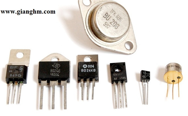 Cấu tạo và nguyên lý hoạt động của Transistor