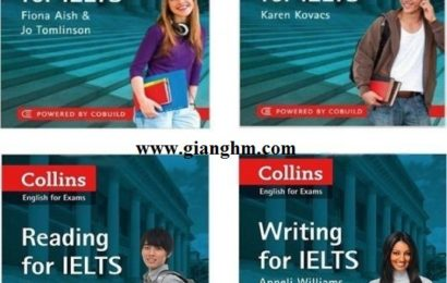 Collins for IELTS Full – Reading, Writing, Listening, Speaking and Vocabulary