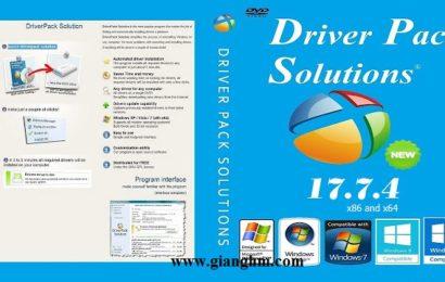 DriverPack Solution 17.7.4 Full – Bộ driver PC offline đầy đủ nhất
