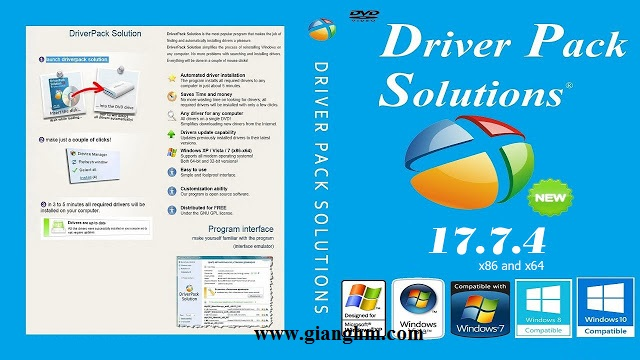 DriverPack Solution 17.7.4 Full