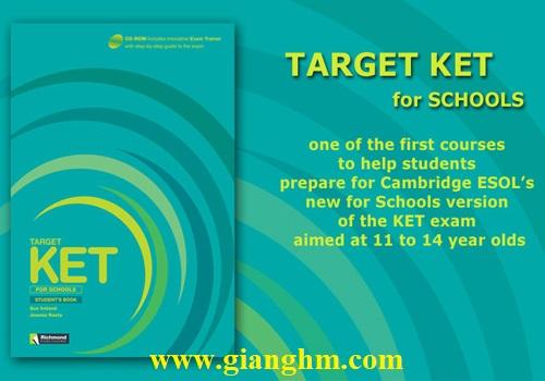Target KET for Schools Full Ebook + Audio CD free