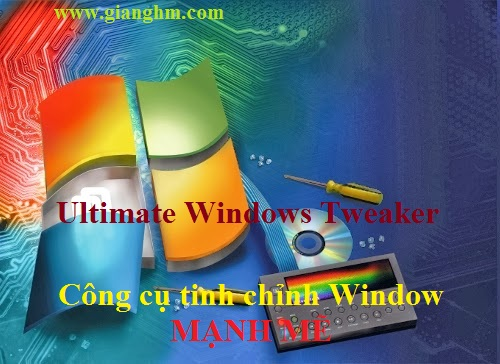 Ultimate Windows Tweaker