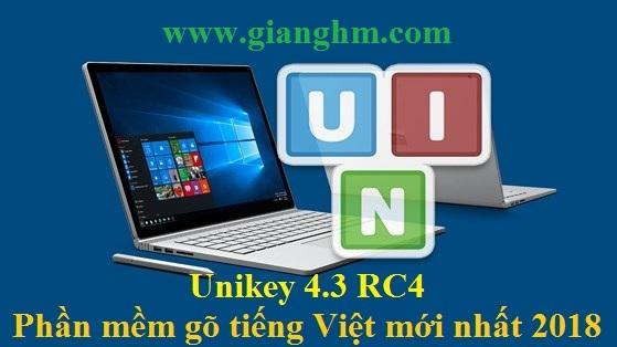 Unikey 4.3 RC4