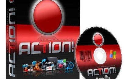 Mirillis Action 3.1.5 Full – Phần mềm quay màn hình máy tính tốt nhất