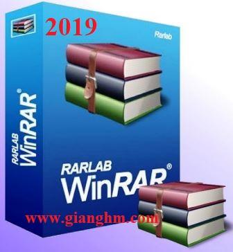 Winrar 5.70 Full – Phần mềm giải nén mới nhất 2019 [googleDrive / Fshare]