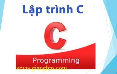 Tài liệu PDF lập trình C/C++ tiếng Việt [GoogleDrive / Fshare]