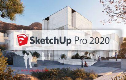 SketchUp Pro 2020 20.1.229 full cài đặt sau một click chuột