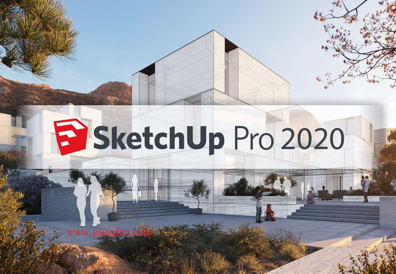 SketchUp Pro 2020 full